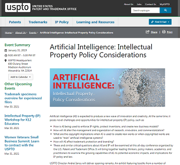 Intellectual Property Policy Considerations