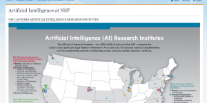 Artificial Intelligence at NSF