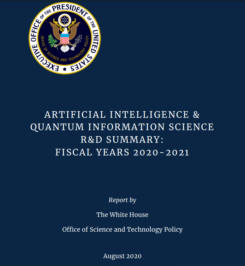 Artificial Intelligence & Quantum Information Science R&D Summary