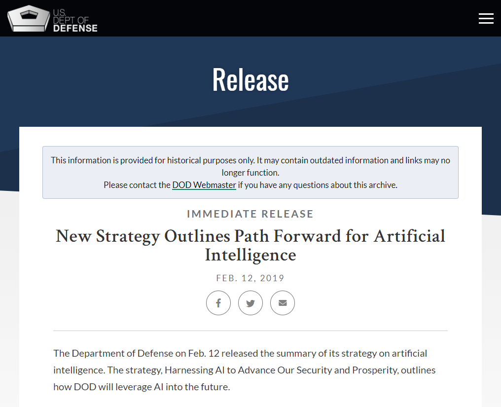 New Strategy Outlines Path Forward for Artificial Intelligence