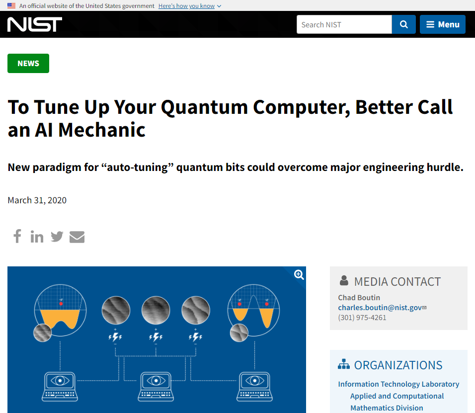 To Tune Up Your Quantum Computer