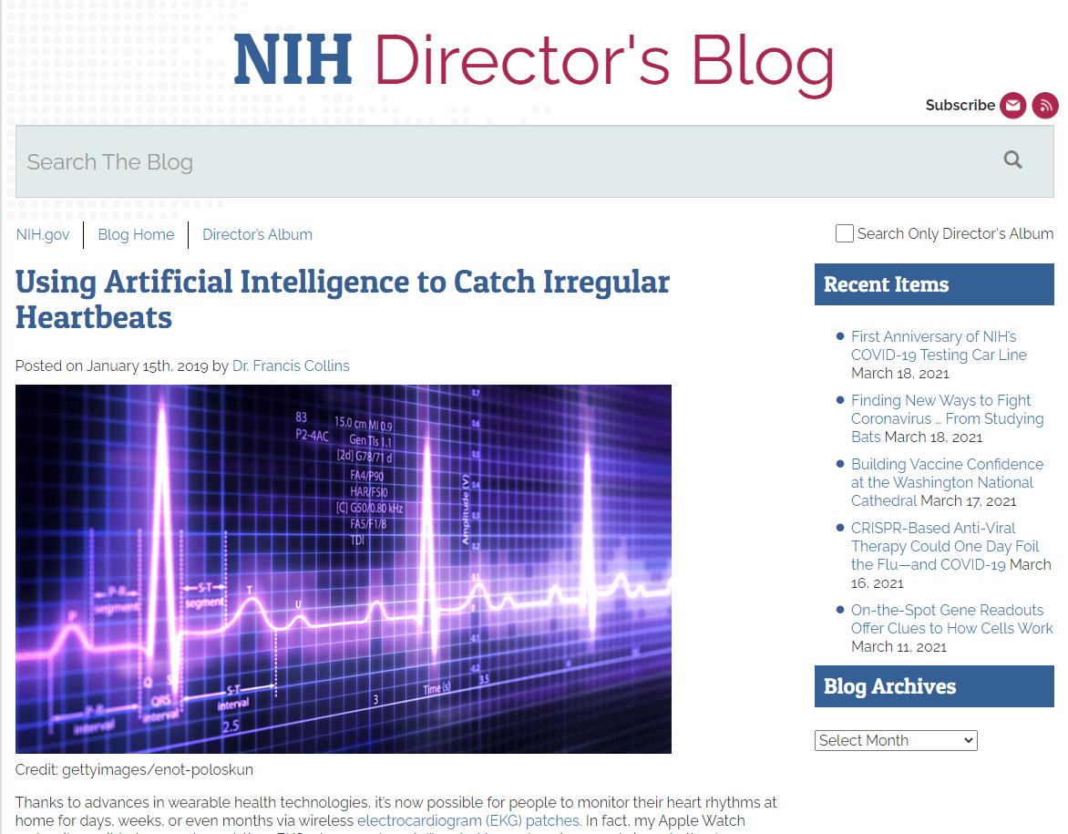 Using Artificial Intelligence to Catch Irregular Heartbeats