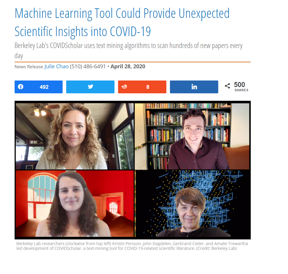 Machine Learning Tool Could Provide Unexpected Scientific Insights into COVID-19