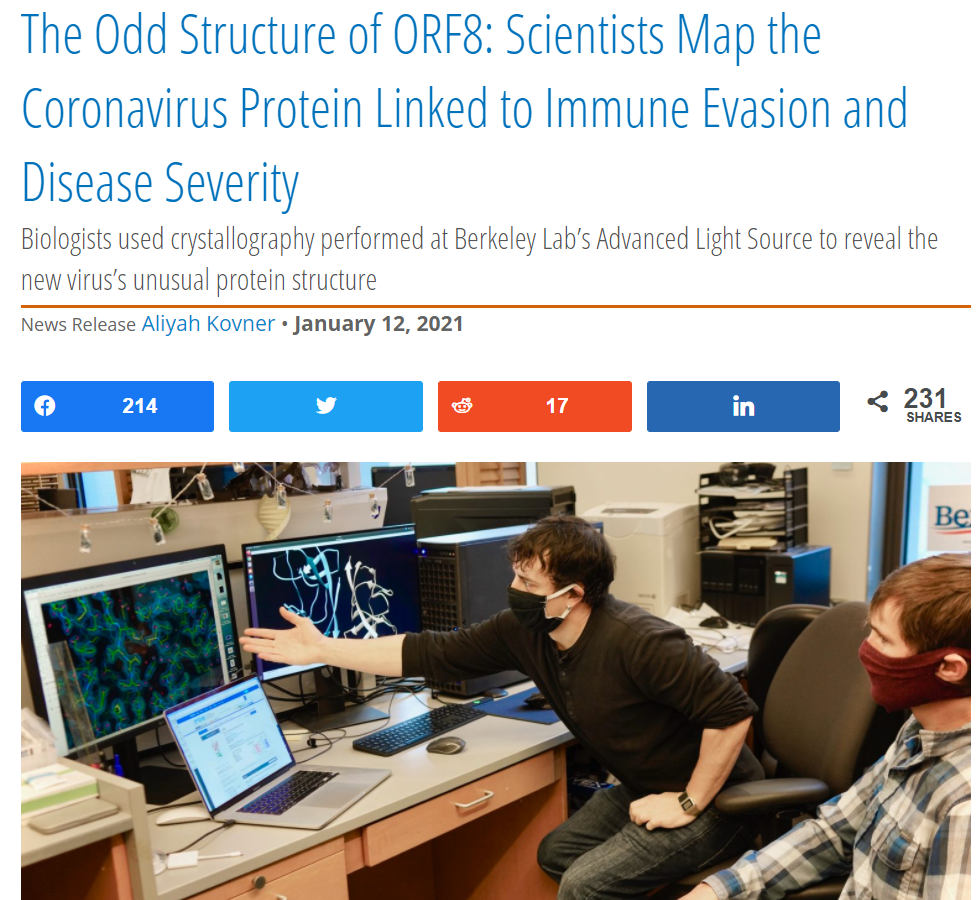 The Odd Structure of ORF8: Scientists Map the Coronavirus Protein Linked to Immune Evasion and Disease Severity