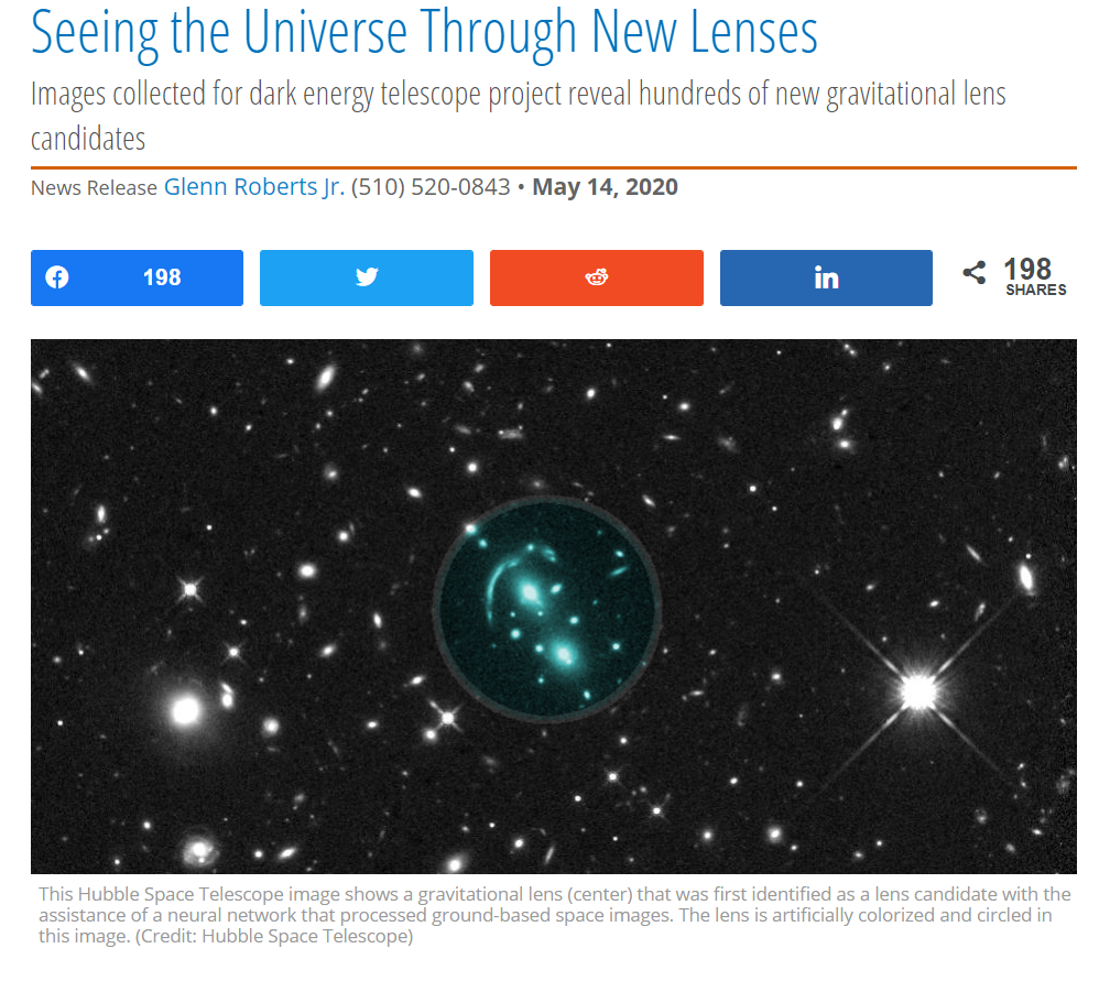 Seeing the Universe Through New Lenses