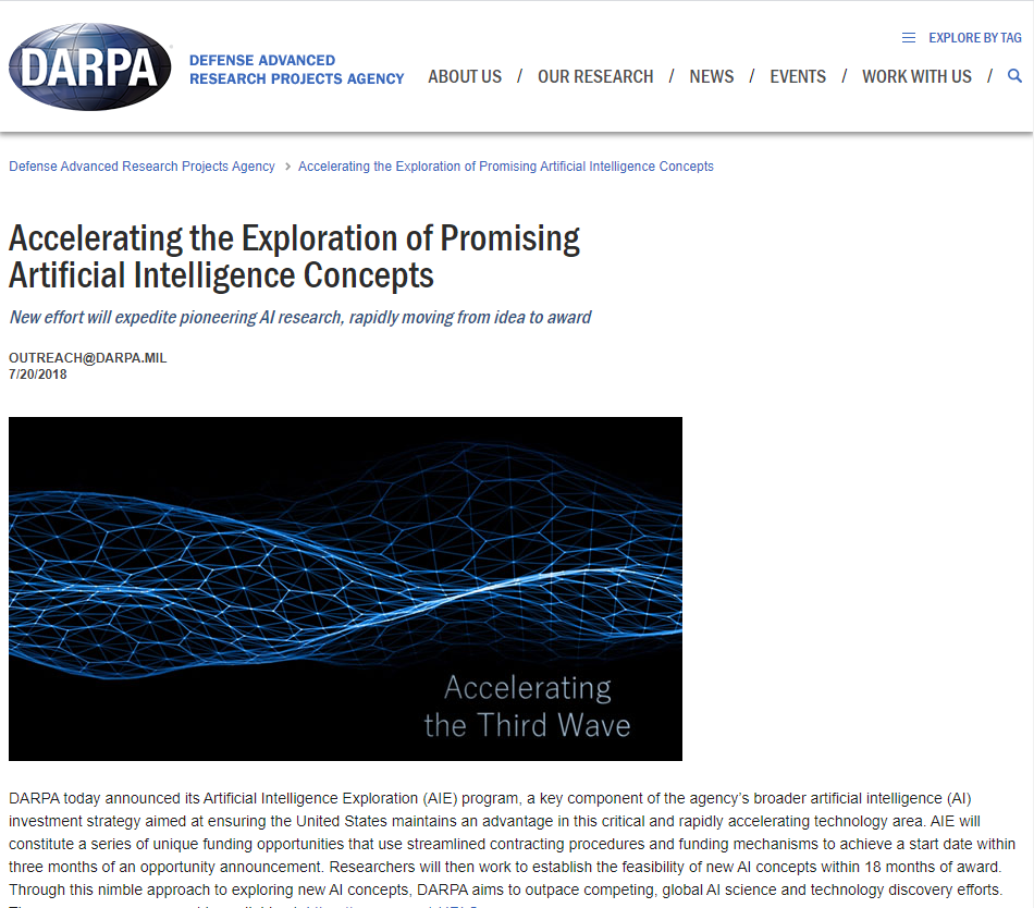 Accelerating the Exploration of Promising Artificial Intelligence Concepts