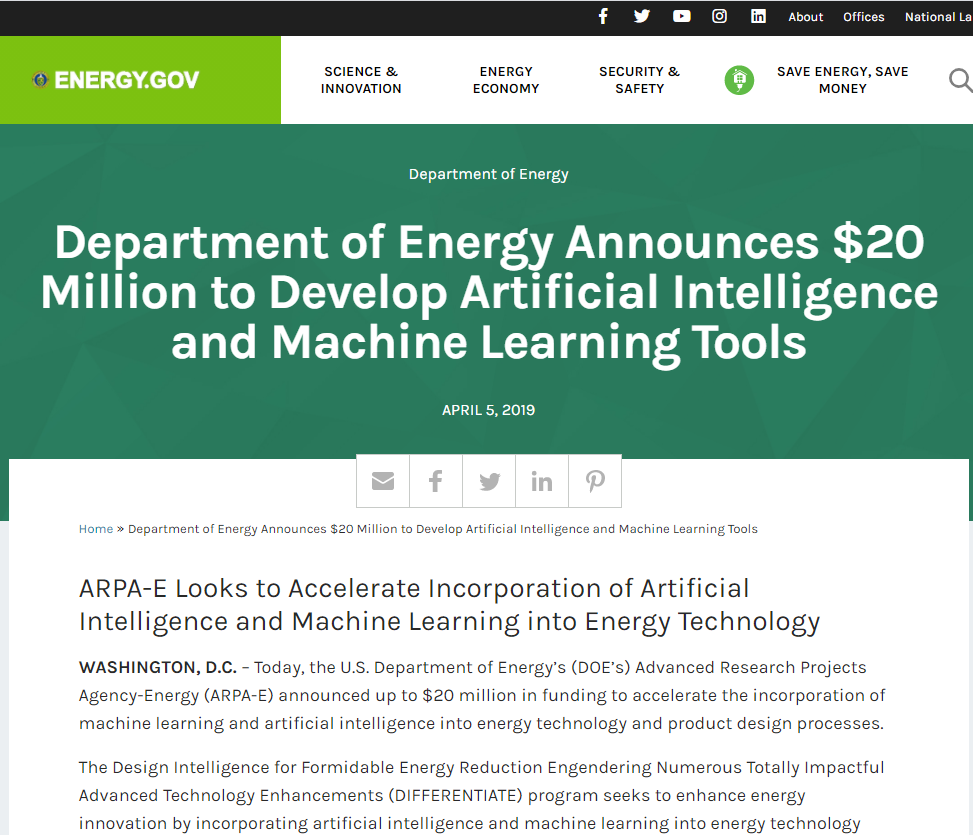 Develop Artificial Intelligence and Machine Learning Tools