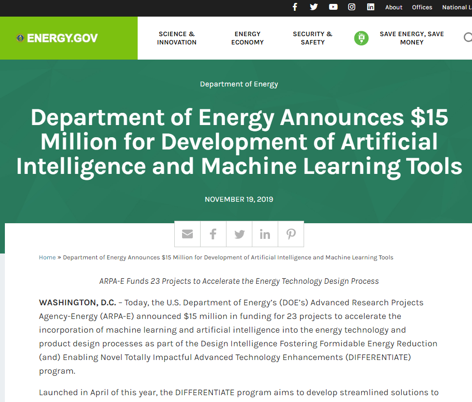 Development of Artificial Intelligence and Machine Learning Tools