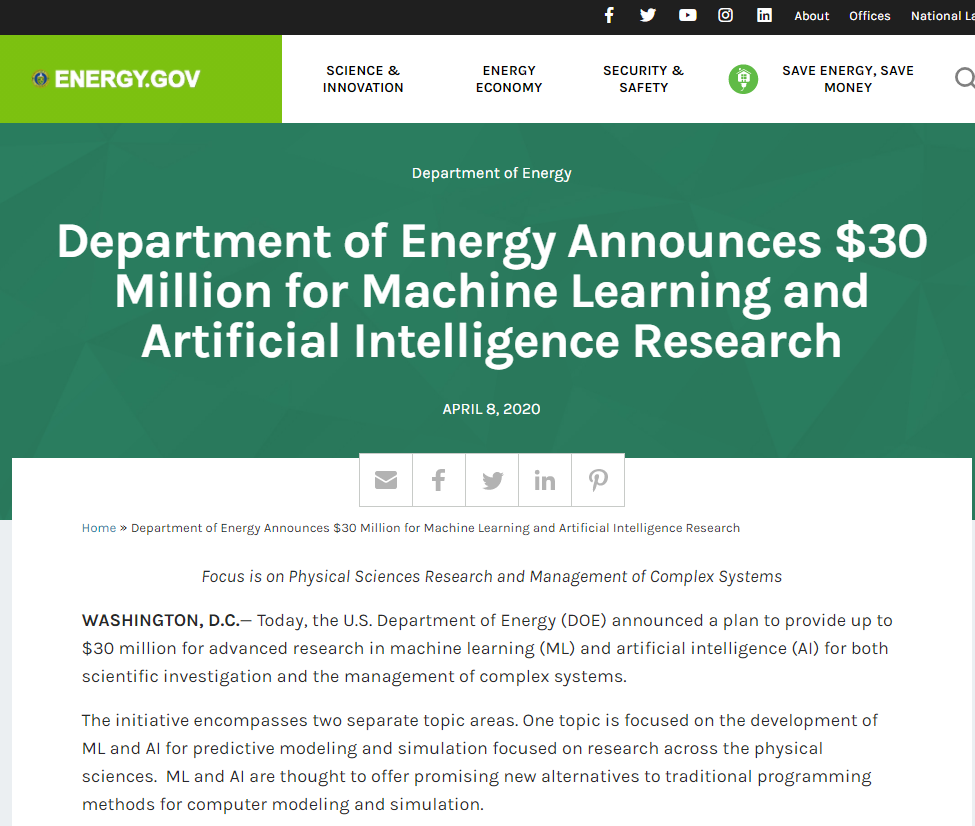 Machine Learning and Artificial Intelligence Research