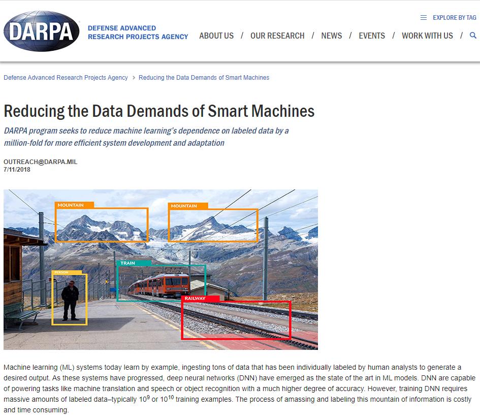 Reducing the Data Demands of Smart Machines