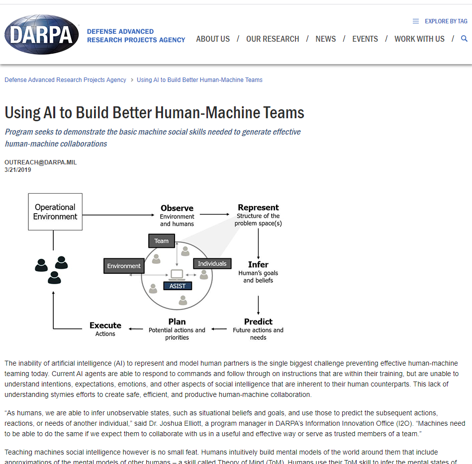Using AI to Build Better Human-Machine Teams