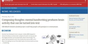 Composing thoughts: mental handwriting produces brain activity that can be turned into text