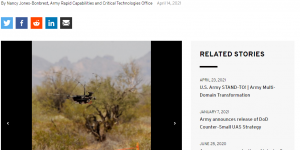 Pentagon completes its first counter drone technology demonstration