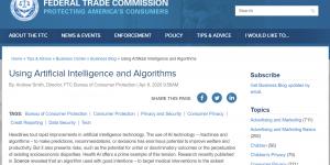 Image of FTC Using AI blog post