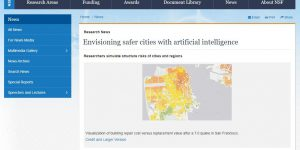 Envisioning safer cities with artificial intelligence