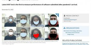 Face Recognition Software Shows Improvement in Recognizing Masked Faces