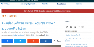 AI-Fueled Software Reveals Accurate Protein Structure Prediction