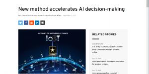 New method accelerates AI decision-making