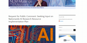 Request for Public Comment: Seeking Input on Nationwide AI Research Resource Implementation Plan