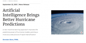 Artificial Intelligence Brings Better Hurricane Predictions