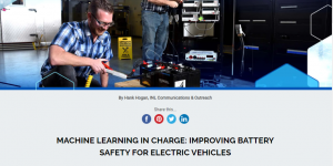 Machine Learning in Charge: Improving Battery Safety for Electric Vehicles